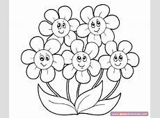 Çiçek Boyama Sayfaları
