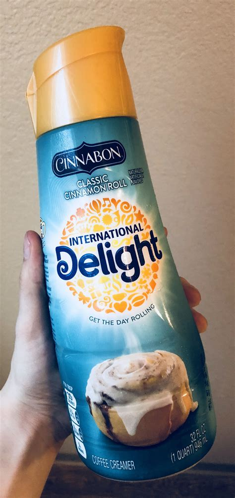 Add the famous taste of cinnabon® to your morning coffee with this delightful coffee creamer. Cinnabon Coffee Creamer ☕️ | Cinnabon, Coffee creamer, Creamer