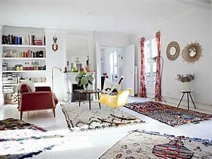 Petit Tapis Berbere : le tapis berb re le petit monde de miss a ~ Teatrodelosmanantiales.com Idées de Décoration