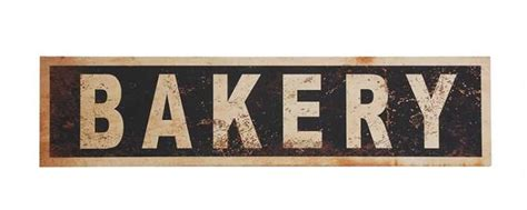 vintage bakery sign vintage reproduction bakery sign