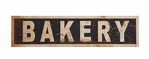 Vintage Bakery Sign, Vintage Reproduction Bakery Sign