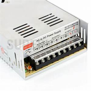 Dc 12v 30a 360w Switching Transformer Power Supply For 5050  3528 Led Strip Light