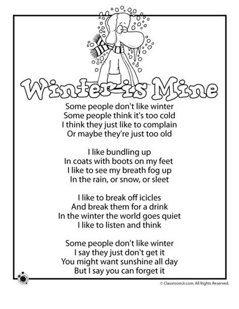winter poems winter is mine poem classroom jr 712 | a08cebc8cbebaa9b95c6d9587afd0ef8 poems for children winter poems for kids
