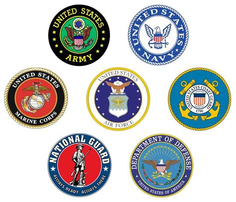 military states united logos branches forces armed army veterans service america american flag happy navy veteran mil force salute