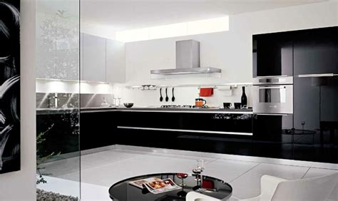 cuisine en noir et blanc une cuisine en noir et blanc inspiration cuisine