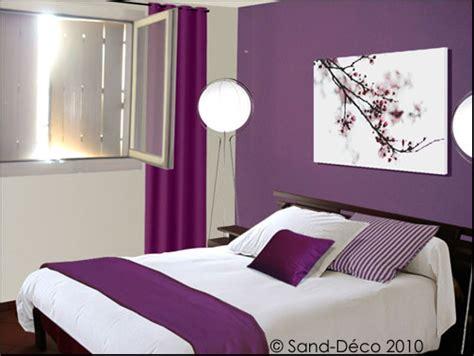 couleur parme chambre déco chambre parme