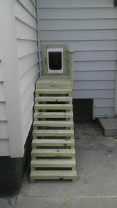 379 best images about dog design for the home on pinterest With dog door steps