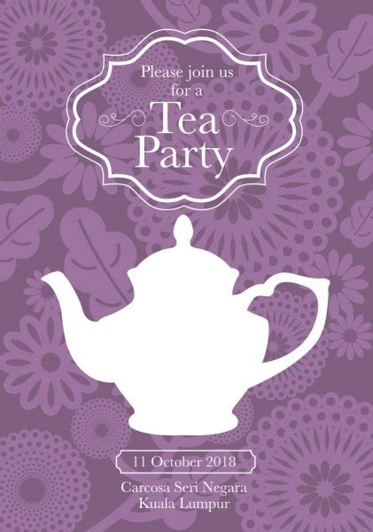 tea party background stock vectors royalty  tea party
