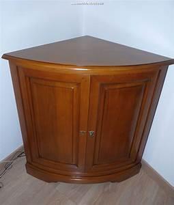 Meuble En Coin : meuble d 39 angle louis philippe en merisier r f r 580 ~ Teatrodelosmanantiales.com Idées de Décoration