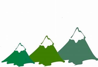 Mountain Peaks Clipart Three Clip Cartoon Peak
