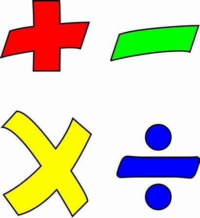 Math Transparent Clipart Maths Operation Minus Divide