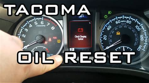 Maintenance Required Light Toyota Tacoma by How To Reset Maintenance Required Light Toyota Tacoma