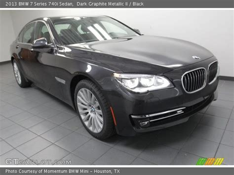 Dark Graphite Metallic Ii  2013 Bmw 7 Series 740i Sedan