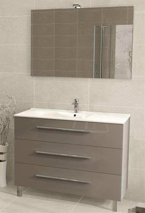 meuble vasque 100 cm meuble sous vasque 3 tiroirs 100 cm s 233 rie adesio 3 sanitaire distribution