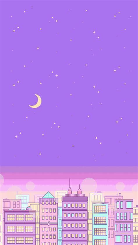 wallpaper ungu pastel