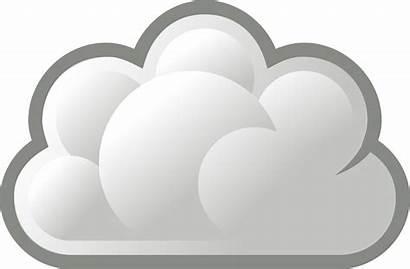 Cloud Clip Clipart Gray Steam Clouds Grey