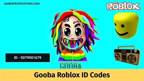 Using song ids, you can play your favourite tiktok songs in games with your friends. 3 Working Gooba Roblox ID Codes 2021 - Game Specifications