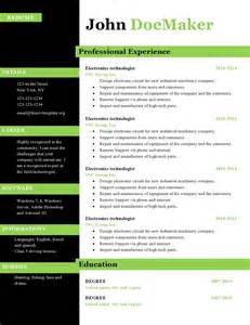 free resume layout 2015 resume cv templates 434 to 440 free cv template dot org