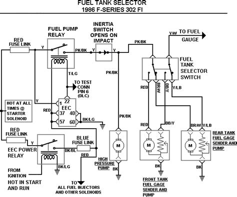 Ford F 350 Fuel Tank Diagram by 86 Ford E350 Fuel Wiring Diagram Wiring Diagram