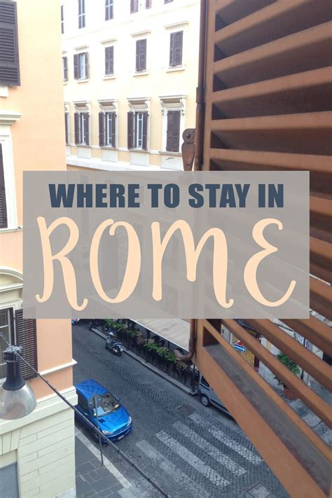 Best Budget Accommodation Rome The Ultimate Rome Travel Guide Rome Travel Tips Italy