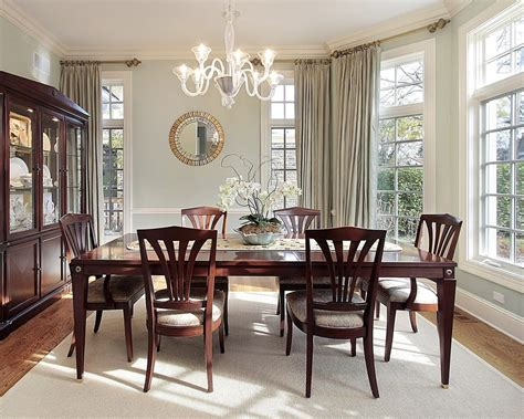 window treatment ideas  formal dining rooms
