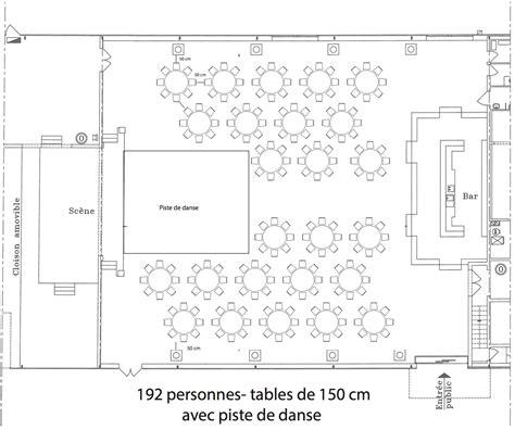 cuisine ronde configuration mariage facile location réception f l r