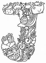 Doodle Alphabet Drawings Drawing Elephant Bell Doodles Letter Coloring Pages Letters Measles Artpal Colouring Getdrawings Illustration Lettering Zentangle Cb Wall sketch template