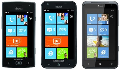 at t phones at t announces a trio of new windows phones ubergizmo