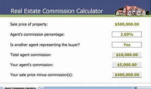 real estate sales commission calculator