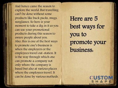 ways  promote  business  travel season