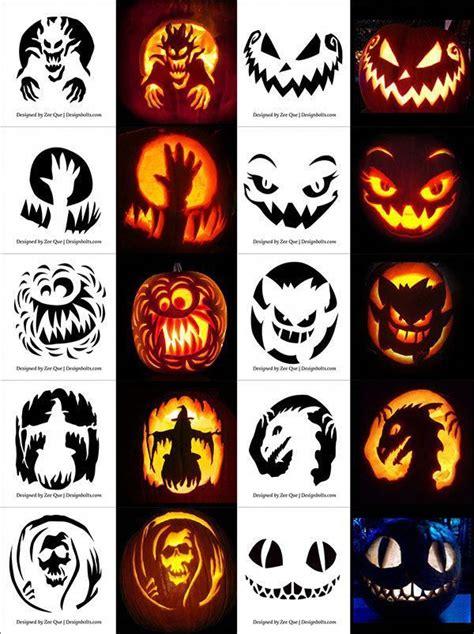 220 free printable pumpkin carving stencils