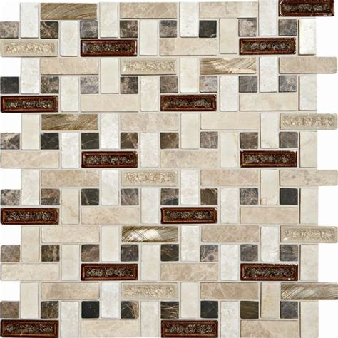 glass backsplash tile menards phase mosaics and glass wall tile 5 8 quot x 2