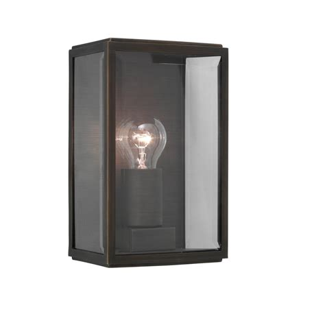 homefield exterior wall light bronze plated lighting and
