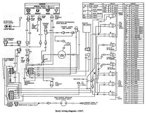 Dodge Charger Body Wiring Diagram All About