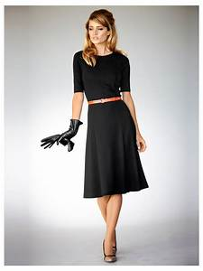 robe noire mi longue With robe noir mi longue