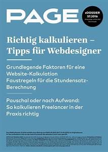 Freelancer Gehalt Berechnen : richtig kalkulieren tipps f r webdesigner page online ~ Themetempest.com Abrechnung