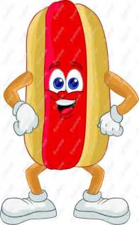 Cartoon Hot Dog Clip Art
