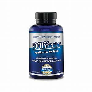 Focus Factor  Brain Health  Dietary Supplement  150 Tablets 726000104073