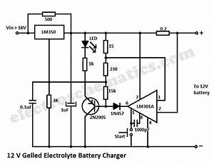 Car Battery Charger Circuit
