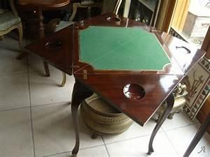 Table Jeux D Eau : table jeux de type mouchoir artisans du patrimoine ~ Melissatoandfro.com Idées de Décoration