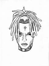 Coloring Xxxtentacion Drawing Xxtentacion Lil Pump Sheets Printable Drawings Wrld Juice Kleurplaat Related Sketches Afkomstig Kleurplatenl Suggestions Keywords sketch template