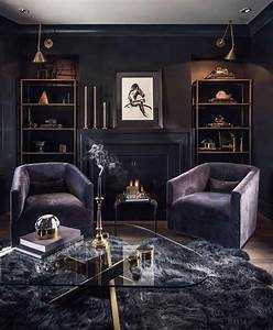 Feminine, Living, Rooms, With, A, Masculine, Touch