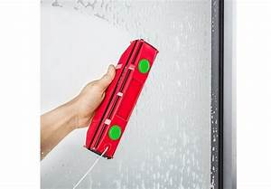 Nettoyer Vitres Extérieures Inaccessibles : raclette lave vitres aimant pour fen tre double vitrage ~ Dode.kayakingforconservation.com Idées de Décoration