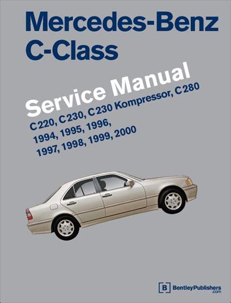 automotive service manuals 2003 mercedes benz s class parental controls front cover mercedes benz c class w202 repair information 1994 2000 bentley publishers