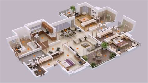 bedroom house plans single story youtube