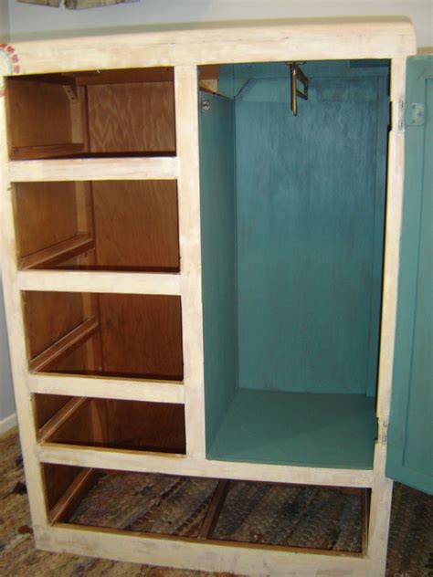 Closet Dresser by Vintage 50 S Child Youth Chifferobe Closet Dresser Armoire