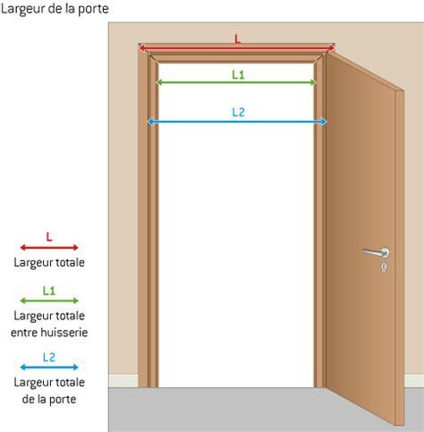 largeur porte chambre rénovation portes intérieures infos et conseils