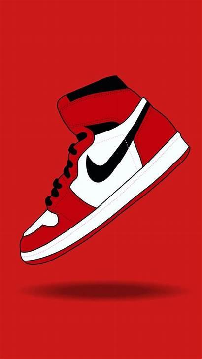 Nike Phone Jordan Shoes Wallpapers Air Iphone