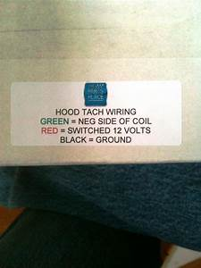 Ford Hood Tach Instructions