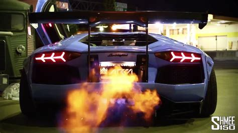 Gtr Shooting Flames Wallpaper by Liberty Walk Aventador Shooting Flames Sssupersports